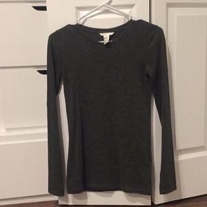 Basic H&M long-sleeve tee